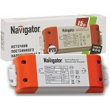 Драйвер Navigator ND-P15 (12V, 1.3A, IP20)