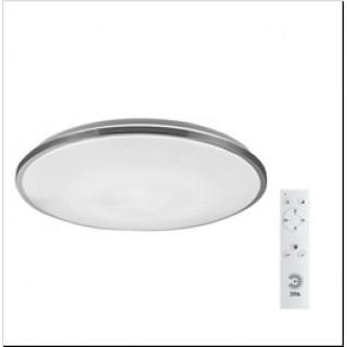 Светильник ЭРА SPB-6 Chrome 60Вт D490*66 3000-6500К 4800Лм с пультом ДУ