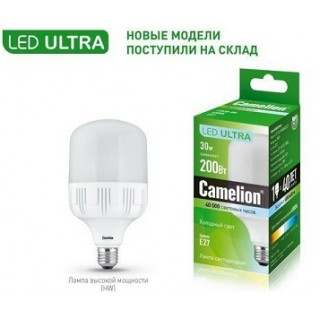 Лампа Camelion LED30-HW/845/E27 30Вт 4500K 2600Лм
