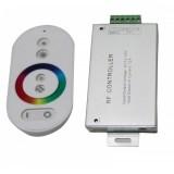Контроллер SWG RGB 216W (12V, 18A, радио, сенсорный, IP20, белый)