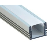Алюминиевый профиль накладной 2000х16х12мм (2м)