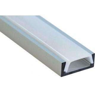 Алюминиевый профиль накладной 2000х16х6мм  (2м)