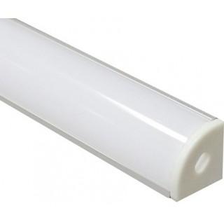 Угловой профиль с пластиком 2000х16х16мм