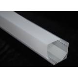 Угловой профиль с прямоугольным пластиком SCT001 2000х16х16мм