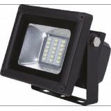 Прожектор SmartBuy FLSMD 10Вт 800Лм 6500К IP65 черный