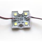 Светодиодный модуль SMD 5054/4 88Lm 35х35х5мм 1W